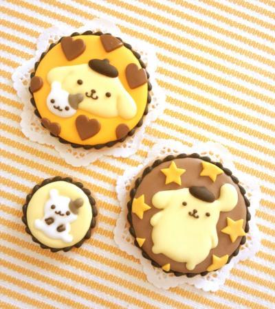 ポムポムプリンのアイシングクッキー★