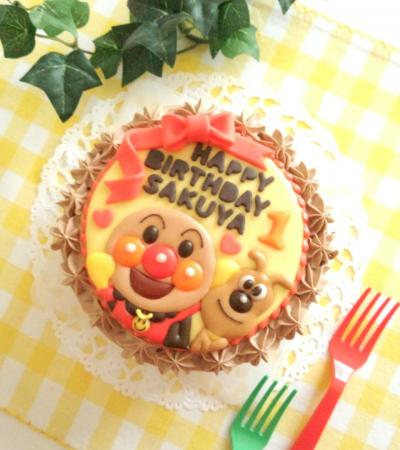 アンパンマンのバースデーケーキ☆