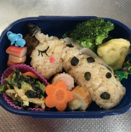 年少さんのお弁当
