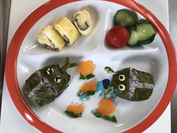 年少さんのお弁当&ランチ