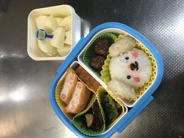 わんちゃんのお弁当