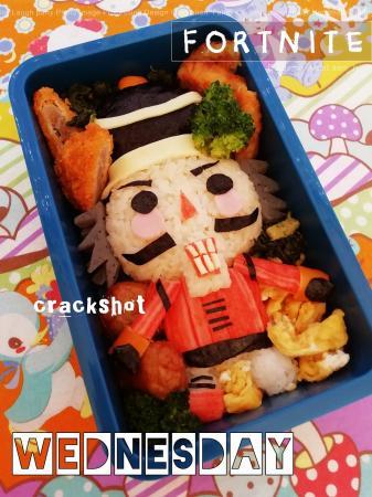 フォートナイト☆クラックショットのお弁当