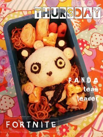 フォートナイト☆PANDAちゃんのお弁当