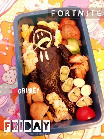 フォートナイト☆グライミーのお弁当