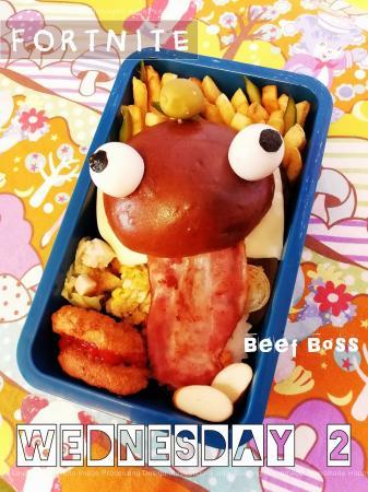 フォートナイト☆ビーフボスのお弁当